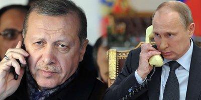 Cumhurbaşkanı Erdoğan, Putin'le İdlib'i görüştü