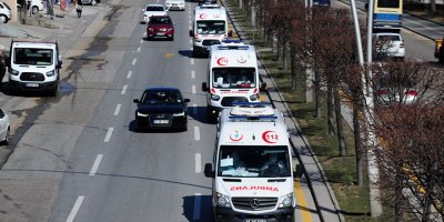 132 Türk yolcu ve mürettebat Ankara Dr. Zekai Tahir Burak Hastanesinde karantinaya alındı