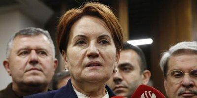 Akşener: Erdoğan'dan bilgi aldım, paylaşmam doğru olmaz