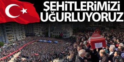 İdlib şehitlerimizi uğurluyoruz!