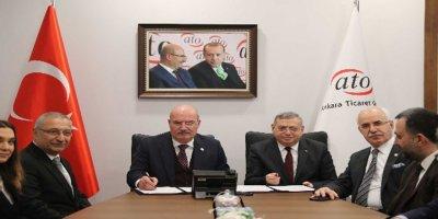 ATO'dan, Başkent Üniversitesi ile iş birliği
