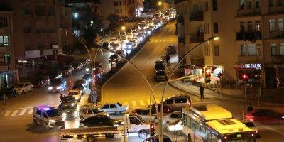 Gölbaşı'nda İdlib şehitleri için konvoy