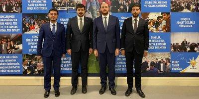AK Parti Ankara Gençlik Kolları Başkanı Burak Yıldız oldu