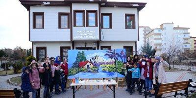 Kahramankazan'ın minik sanatçıları büyülüyor