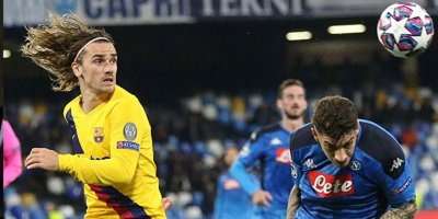 Barcelona-Napoli maçına korona darbesi