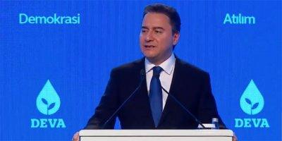 Ali Babacan DEVA Partisi'ni tanıttı