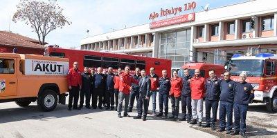 Ankara İtfaiyesi ve AKUT işbirliği yapacak