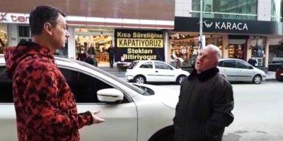 Başkan Şimşek sokakta tek tek vatandaş uyardı