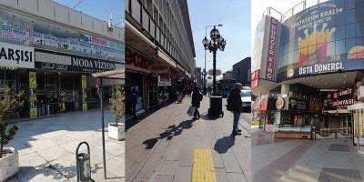 Ankara'da dükkanlar bir bir kapandı esnaf zor durumda