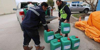 ASKİ'den dezenfektan sıkıntısına çözüm