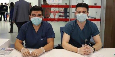 Şehir Hastanesi'nde Korona virüs Bilgilendirme Masası kuruldu
