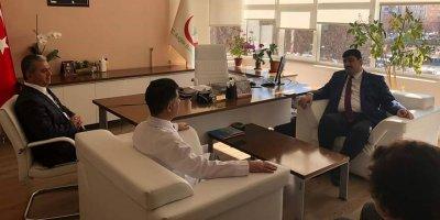 Başkan Oğuz 100 yataklı tesisi sağlık çalışanlarına tahsis etti