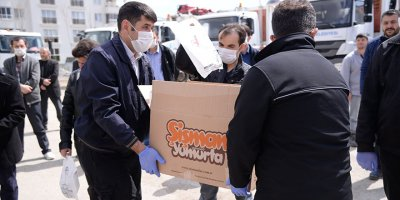 Başkan Çetin'den çalışanlarına destek paketi