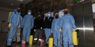 Çankaya'da 2430 nokta dezenfekte edildi