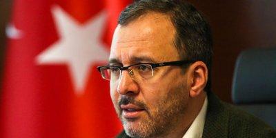 """Bakan Kasapoğlu:""""Bu süreçten el birliği ile çıkacağımıza inanıyorum"""""""