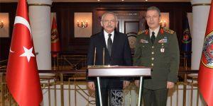 Kılıçdaroğlu Genelkurmay Başkanlığı'nda