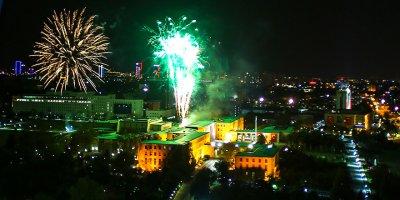 TBMM'de havai fişekli 23 Nisan kutlamaları