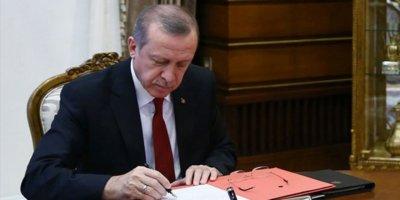 Cumhurbaşkanı Erdoğan'dan kritik atamalar