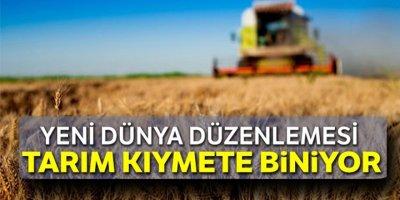 Yeni dünya düzenlemesi: Tarım kıymete biniyor