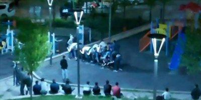 Ankara'da tepki çeken görüntüler