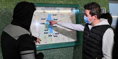 ANKARAY'da haritalar hayatı kolaylaştırıyor
