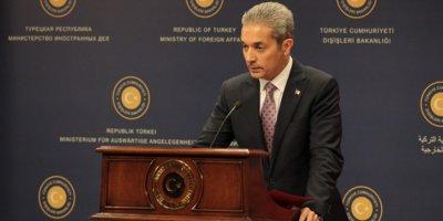 Dışişleri Sözcüsü Aksoy: Birleşik Arap Emirlikleri haddini bil
