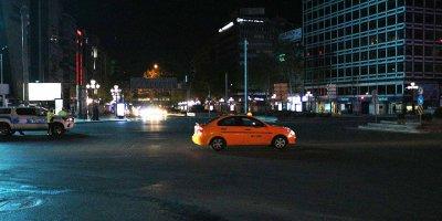 Başkent'te sokağa çıkma kısıtlaması sona erdi