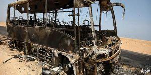 Suriye'nin Atme kasabasında patlama