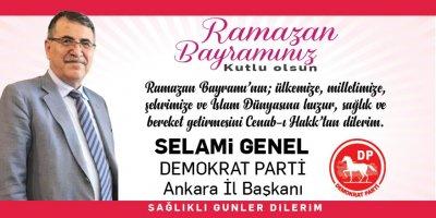 Selami Genel'den Ramazan Bayramı Mesajı