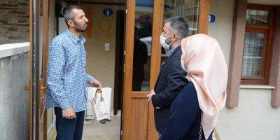 Başkan Çetin'den gazilere vefa ziyareti
