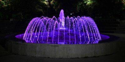 Milli Egemenlik Parkı ışıl ışıl