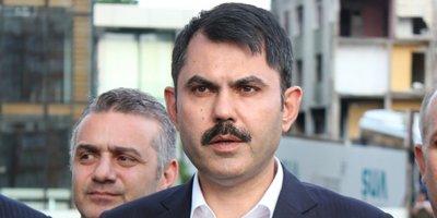 Bakan Kurum: Kaçak yapıları tek tek yıkacağız