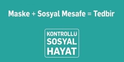 Koronavirüsle mücadele sürecinde evinde kal Türkiye