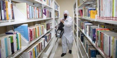 Kütüphanelerde yeni normal dönem