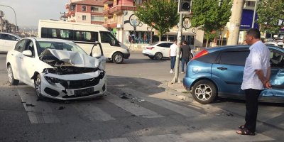 Sincan'da trafik kazası:1 yaralı