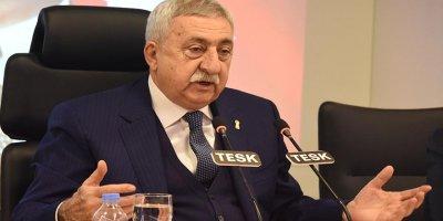 TESK Başkanı Palandöken'den 1 Temmuz açıklaması