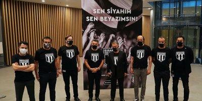 """Beşiktaş'ın yardım kampanyası: """"Bırakmam Seni"""""""