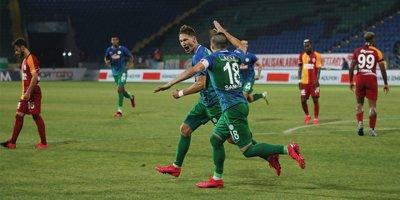 Galatasaray Rize'de 3 puan bıraktı
