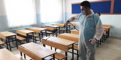 Pursaklar'da okullar sınava hazır
