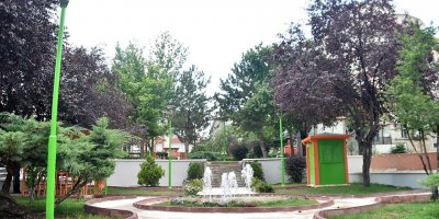 Mamak'ta yeşil alan çalışmaları hızlandı