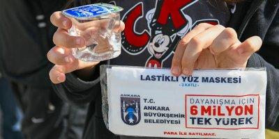 Büyükşehir'den LGS öğrencilerine maske desteği