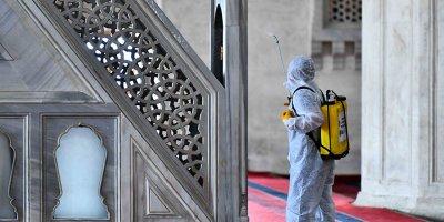 Başkentte 65 camide hijyen seferberliği