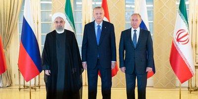 Suriye konulu üçlü zirve sonrası ortak bildiri