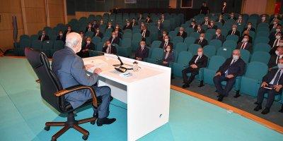 MHP'de il başkanları toplantısı başladı