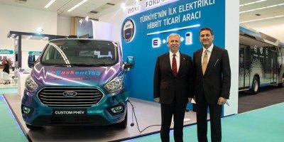 Hibrit elektrikli ticari araç Ford Custom PHEV İlk kez Ankara'da test edilecek