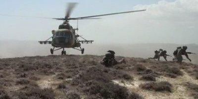 Azerbaycan-Türkiye ortak askeri tatbikatlarına katıldı