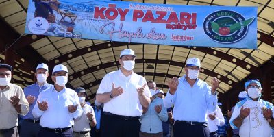 Kahramankazan Köy Pazarı açıldı