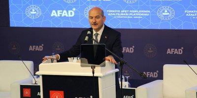 Bakan Soylu'dan önemli afet açıklaması