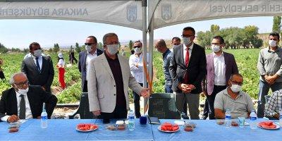 Başkan Yavaş'tan sulu tarım hamlesi