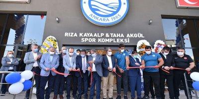 Avrupa standartlarındaki ilk güreş salonu açıldı
